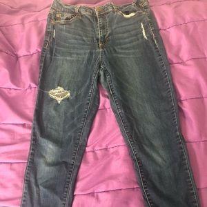 Aeropostale Women's Skinny Jeans SZ 10 Reg Stretch